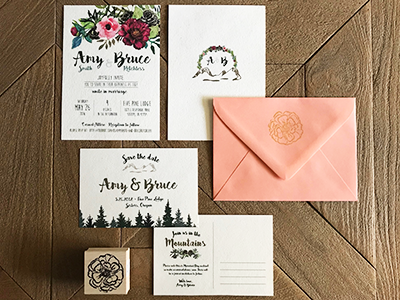 Wedding Invites + Save the Dates
