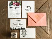Wedding Invites + Save the Dates