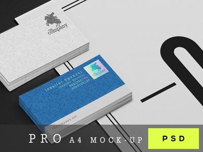 Psd A4 Paper Mock-Up
