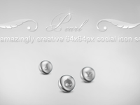 Pearl Social Media Icons