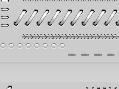 Ui Divider Collection ui soft dividers divider shadow interface web element website buttons wire stitches clean web buttons