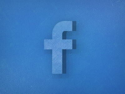 Facebook Launch  fan fan page option retro facebook social blue social network grunge graphcoder rough hursh