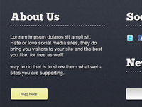 The Site Footer