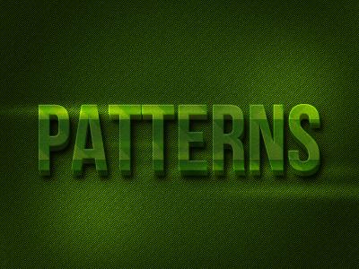 Pattern typography by graphcoder