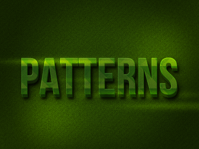 Patterns Typo type typography text font patterns pattern free flare green cinamatic explode 3d shadow deep depth pat psd presentation grass