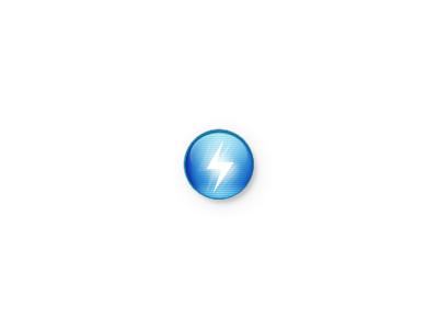 Avatar simple power volt voltage avatar clean screen orb shiny light