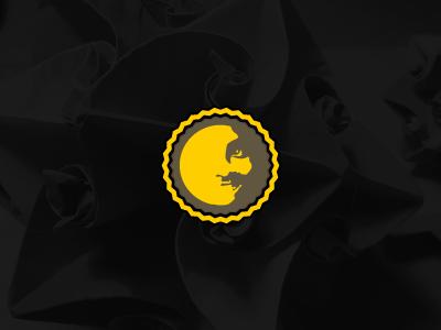 My New Logo graphcoder retro badge vintage face identity logo ident mark emblem branding icon
