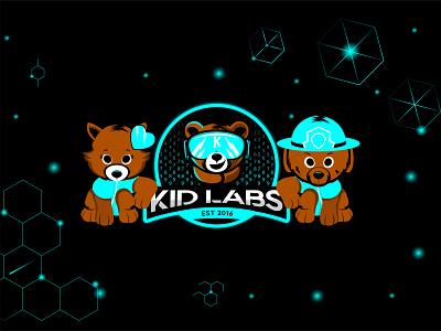 KID LABS STORE web design ui design flat design flat illustration illustration landing page