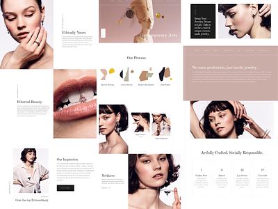 King Elisabeth responsivedesign ecommerce typography branding web ux ui design