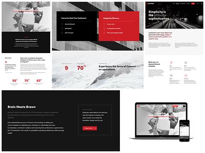 Helvetia Connect logo graphic design ui ux web design branding