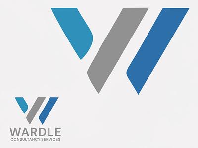 Wardle Consultancy Services vector logo typography graphic design design branding