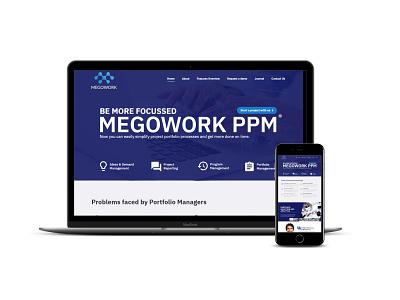 Megowork wordpress ux ui webdevelopment website webdesign typography graphic design design branding