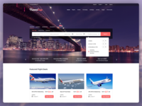 TravelTrip - Travel, Tour, Flight & Hotel Booking Template