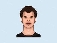 Tyler Kennedy pixel art portrait