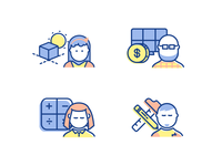 People Iconography for Solar Project