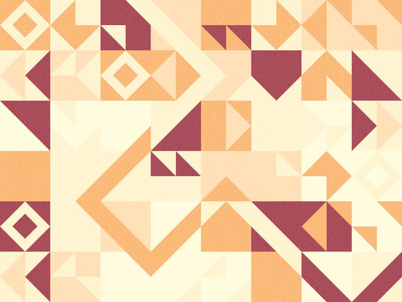 Daily Pattern - 01 02 20 angles diamonds geometry sunset beige tan orange red arizona patterns tiles tile pattern