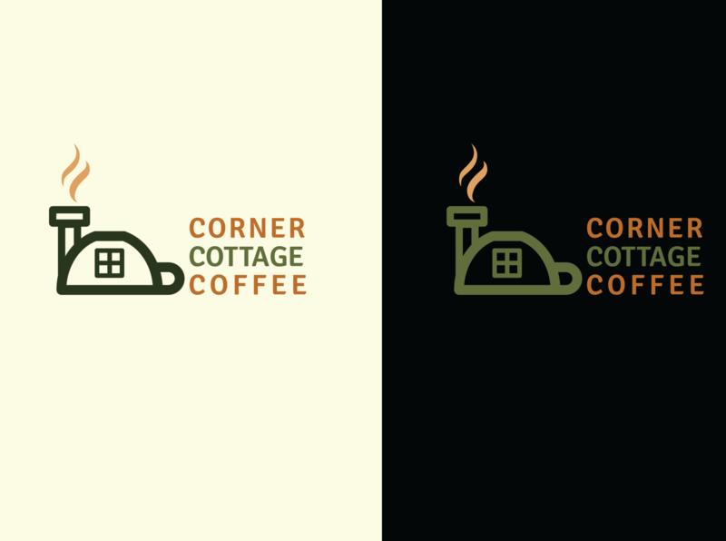 Corner Cottage Coffee logo logodesign design