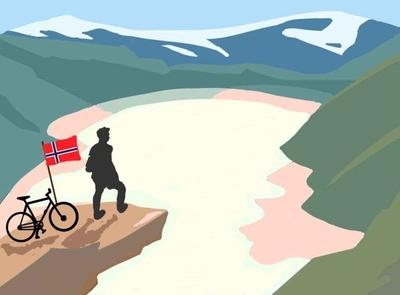Norway Fjords cliffs hills mountains landscape landscapes landscape illustration vectorart illustration graphic designing graphic design illustrations illustration art vector art vector illustration vector scandinavian design scandinavia norwegian norway fjords