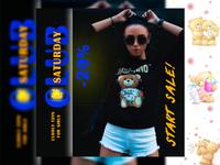 Креативная реклама продажи мягких игрушек design collage instagram stories instagram post landing page web design social media design social media banner