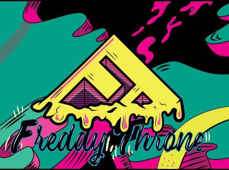 FT Youtube Banner website typography web logo branding graphic vector illustrator popart art design