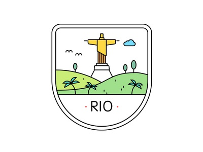 Rio Badge