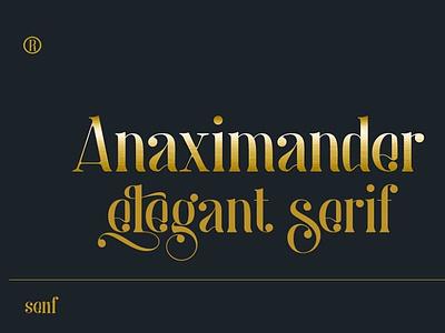Anaximander Serif Font
