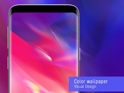 Color wallpaper design light wallpaper phone wallpaper color