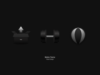 Mobile Theme — Black