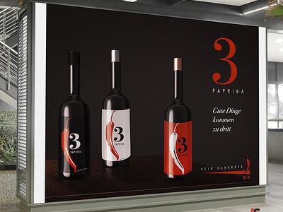 3Paprika advertising advertising branding logo design marketing print ads