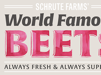 Schrute Farms' Beets