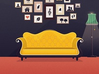 The Identified Yellow Couch