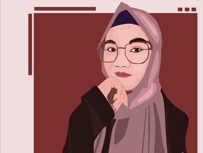 A Friend of Mine #2 portrait vector illustrator vector art vectorart portrait art illustration design
