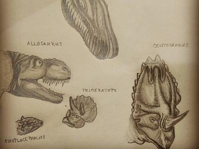 dinosaurs for my son illustration