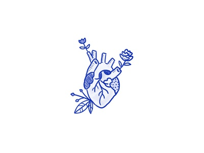 Heart flowers heart