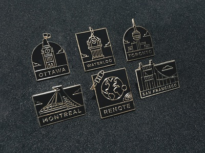 City Pins montreal san francisco toronto ottawa city pin enamel shopify