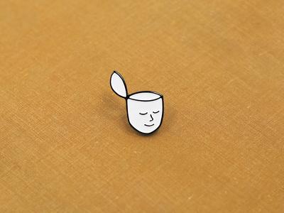 Head Pin ottawa head illustration enamel pin face lapel pin enamel