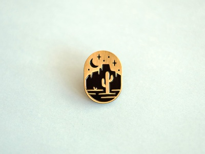 new pin!🌵 lapel pin enamel cactus desert