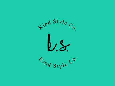 K.S. illistrator design branding design branding and identity vector minimal logo flat branding
