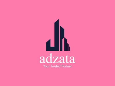 Adzata illistrator design branding design branding and identity vector minimal logo flat branding