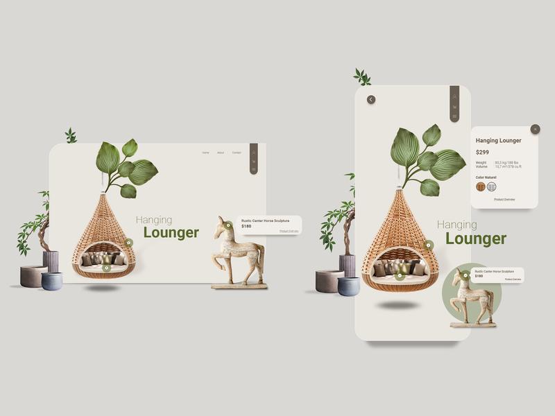 Ecommerce - Website & Mobile App ux design decoration typography ui design webdesign mobile app design mobile app mobile ecommerce website app minimal design ux ui