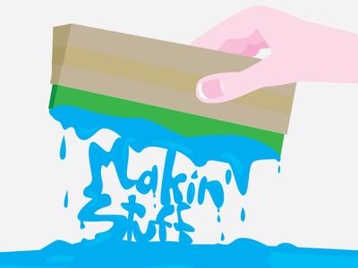 Guide to screenprinting at home for fun screenprinting how-to guide home diy fun