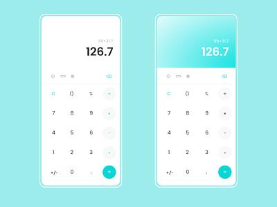 Daily UI #004 | Calculator ui web adobexd design daily ui dailyui