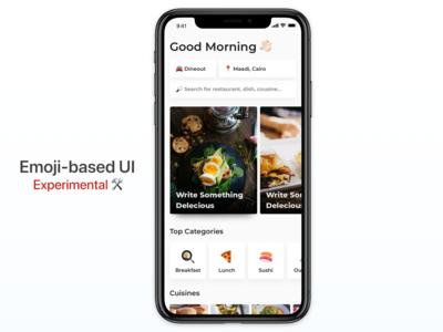 Emoji-based UI