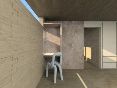 Kind of Brutalism House 3dsmax 3ds max design interiordesign floorplans architecture 3d modeling