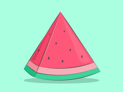 Watermelon watermelon vector mehreen illustrator illustration art illustration