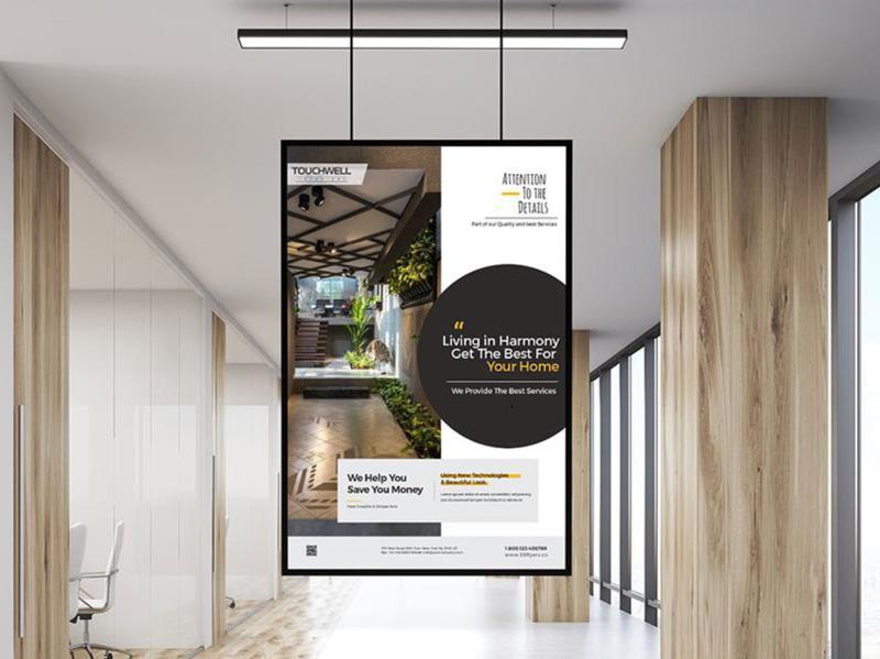 Hoarding Design hoarding banner design branding