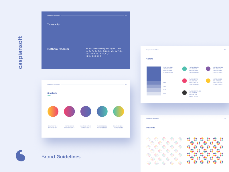 Brand Book by Mirzamin Agazade on Dribbble