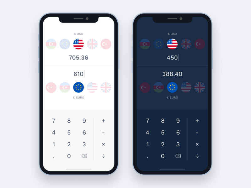 Currency exchange figma converter currency darkui light ui ui design mobile app money exchange