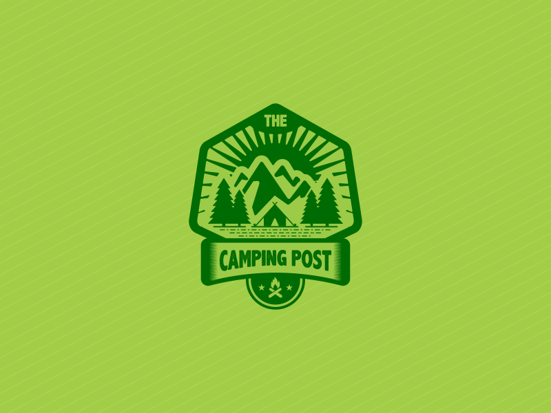 Camping Badge adventure camp camping nature outdoor mount badge emblem survival