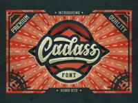 Cadass Font Duo - First Font Debut